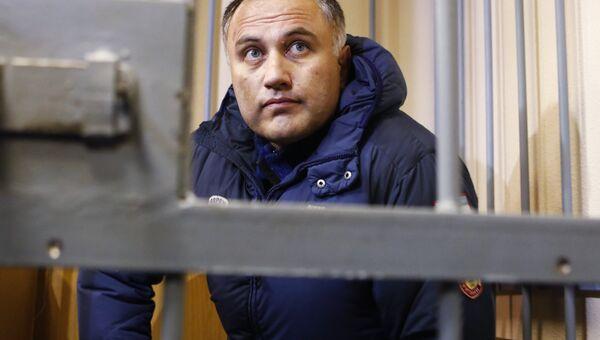 Бывший вице-губернатор Санкт-Петербурга, предприниматель Марат Оганесян в Смольнинском районном суде Санкт-Петербурга