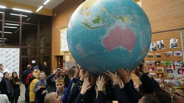 Участники Всероссийского географического диктанта на площадке Балтийского федерального университета имени Канта в Калининграде