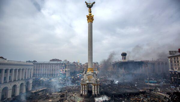 Площадь Независимости в Киеве. Февраль 2014. Архивное фото