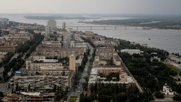 Панорама Волгограда. Архивное фото