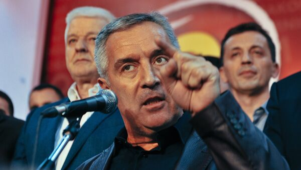 Премьер-министр Черногории Мило Джуканович. 17 октября 2016 года