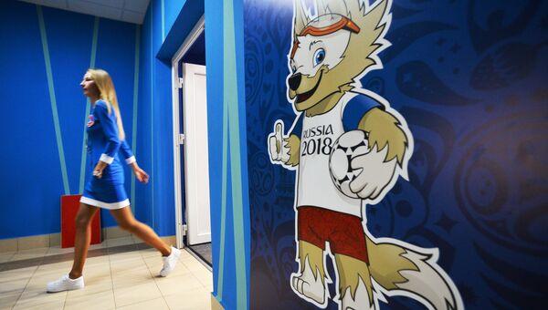 Талисман чемпионата мира по футболу FIFA 2018 Волк Забивака