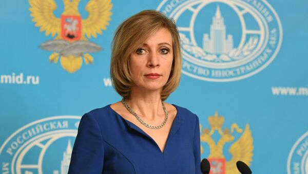 Официальный представитель министерства иностранных дел РФ Мария Захарова. Архивное фото