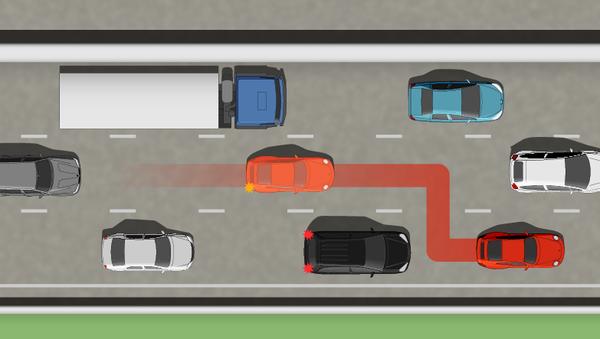 Невыполнение требования уступить дорогу транспортному средству