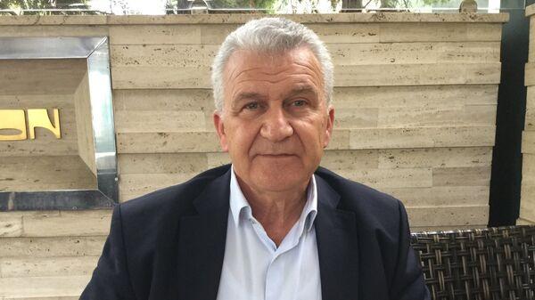 Специальный советник премьер-министра Греции по вопросам сотрудничества с Россией Димитрис Веланис