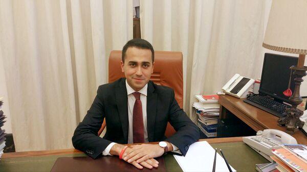 Министр иностранных дел Италии Луиджи Ди Майо