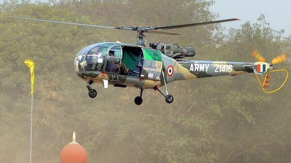 Вертолет индийской армии Cheetah