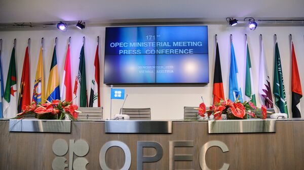 Перед началом официальной встречи Организации стран-экспортеров нефти в Вене. Архивное фото