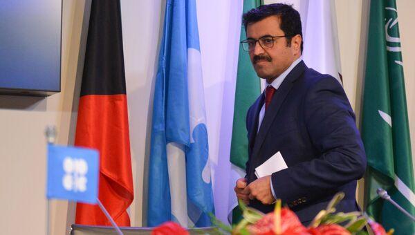 Министр энергетики Катара Мухаммед бен Салех ас-Сада. Архивное фото