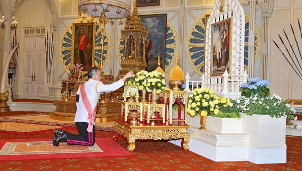 Маха Ватчиралонгкон в день провозглашения королем Таиланда