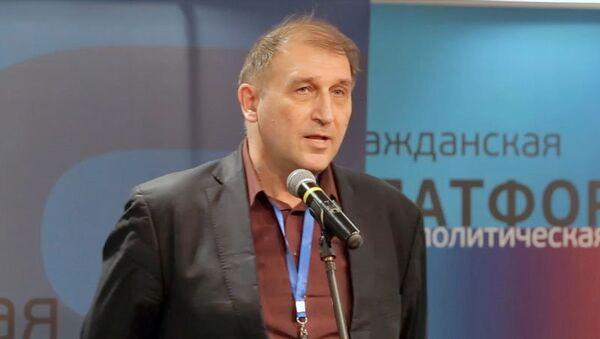 Юрий Громыко, член Зиновьевского клуба МИА Россия сегодня