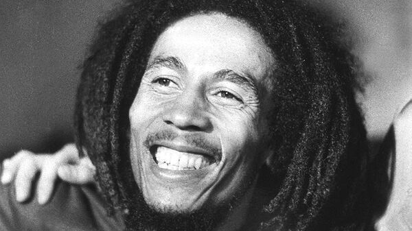Ямайский певец Боб Марли, 1976