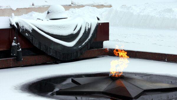 Могила Неизвестного солдата у Кремлевской стены. Архивное фото