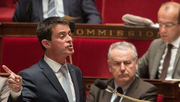 Премьер-министр Франции Манюэль Вальс. Архивное фото