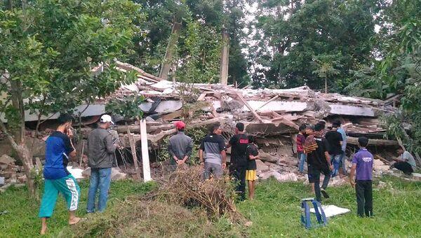 Последствия землетрясения в Индонезии. 7 декабря 2016
