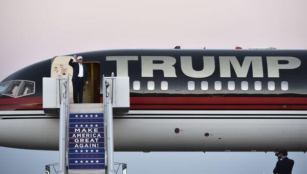Самолет Дональда Трампа. Штат Колорадо, 17 сентября 2016