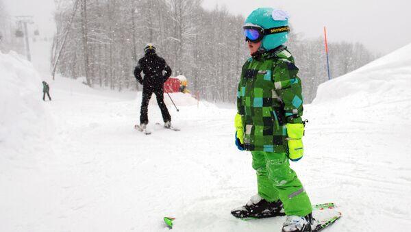Лыжи. Архивное фото