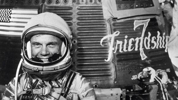 Американский астронавт Джон Гленн. Архивное фото
