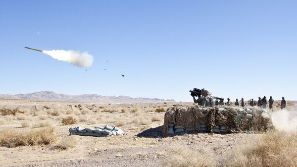 Американский переносной зенитно-ракетный комплекс (ПЗРК) FIM-92 Stinger