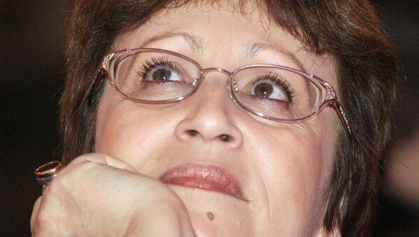 Писательница Дина Рубина. Архивное фото