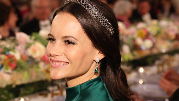 Принцесса София на Нобелевском банкете в мэрии Стокгольма