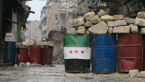 Освобожденный квартал восточного Алеппо. Архивное фото