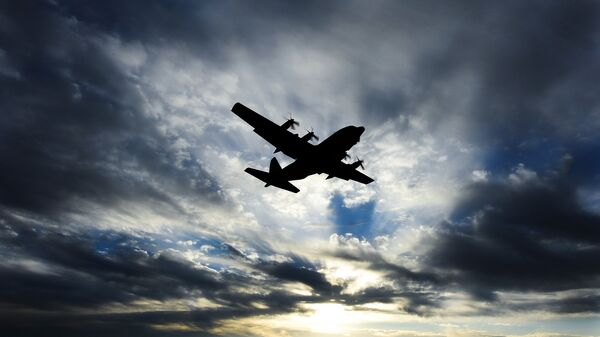 Военно-транспортный самолет  С-130 Hercules