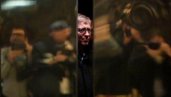 Билл Гейтс в Трамп Тауэр в Нью-Йорке. 13 декабря 2016