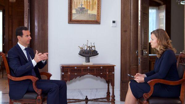 Интервью президента Сирии Башара Асада телеканалу RT