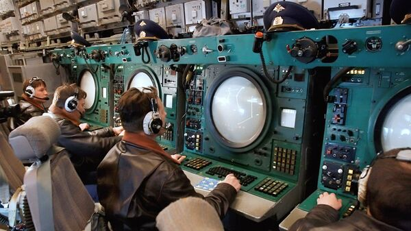 Российский авиационный комплекс радиолокационного дозора и наведения А-50. Архивное фото
