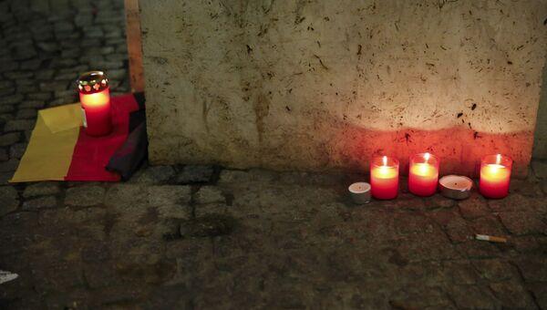 На месте трагедии, где грузовик протаранил рождественскую ярмарку в Берлине, Германия