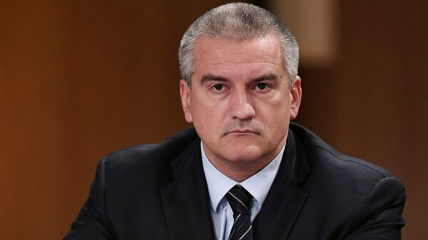Глава Республики Крым, председатель Совета министров Республики Крым Сергей Аксенов. Архивное фото