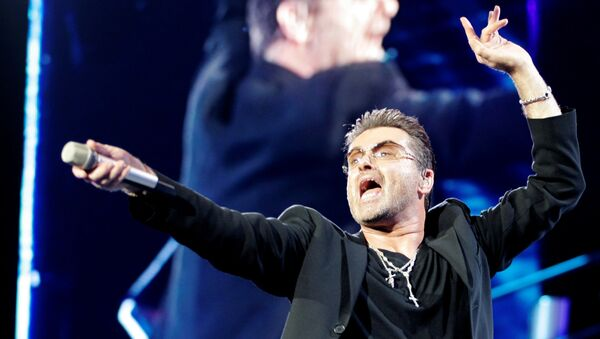 Британский певец Джордж Майкл. 2007 год