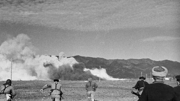 Оборона Севастополя. Наступление морской пехоты. Великая Отечественная война 1941—1945 годов