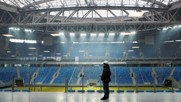 Стадион Зенит-Арена в Санкт-Петербурге. Архивное фото