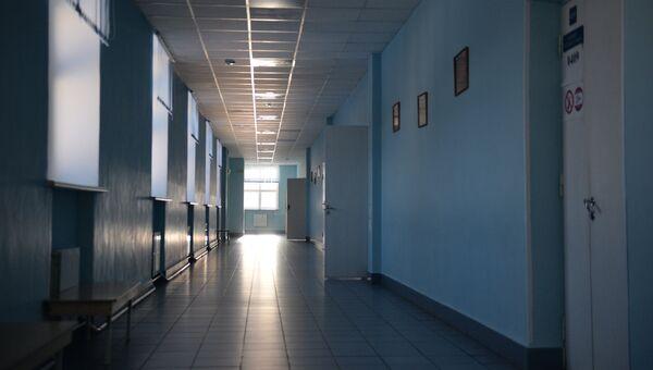 Коридор школы. Архивное фото