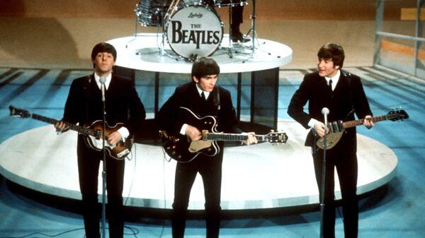 Выступление группы The Beatles
