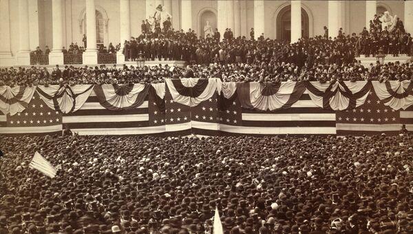 Инаугурация президента Гровера Кливленда округ Колумбия, США, 1885