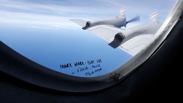Поисковая операция Boeing MH370 в Индийском океане. 22 марта 2014