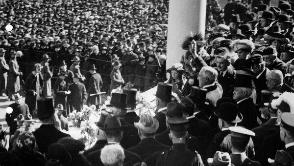 Инаугурация президента Уоррена Гардинга, округ Колумбия, США, 1921