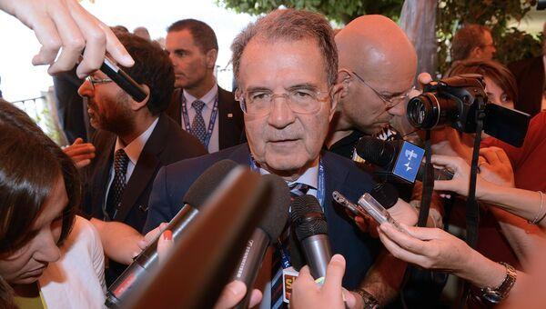 Бывший председатель Совета министров Италии Романо Проди. Архивное фото
