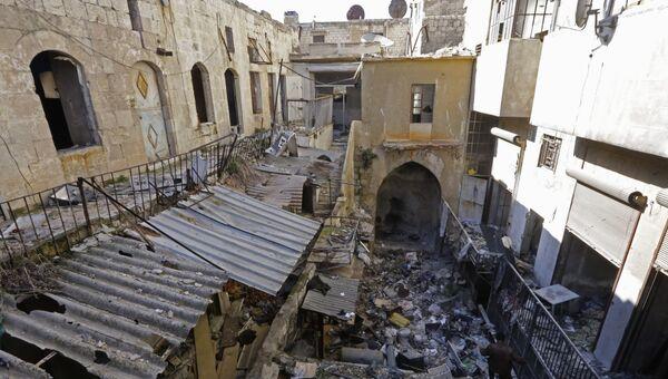 Ситуация в Алеппо, 22 января 2017