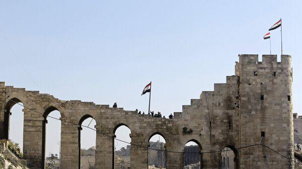 Цитадель Алеппо. Архивное фото