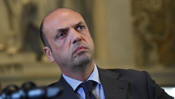 Министр иностранных дел Италии Анджелино Альфано. Архивное фото