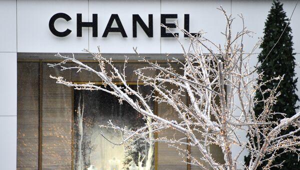 Вывеска магазина Chanel