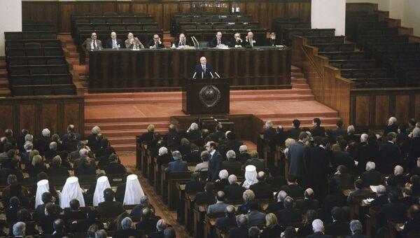 Генеральный секретарь ЦК КПСС Михаил Горбачев. Архив