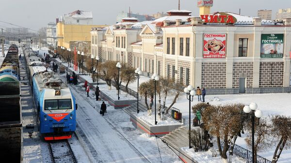 Железнодорожная станция Чита-2