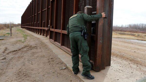 Пограничный патруль США на границе между Мексикой и США