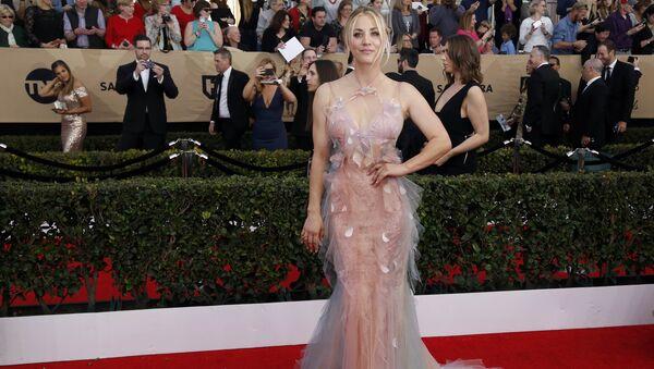 Кейли Куоко на церемонии вручения премии Гильдии киноактеров США в Лос-Анджелесе
