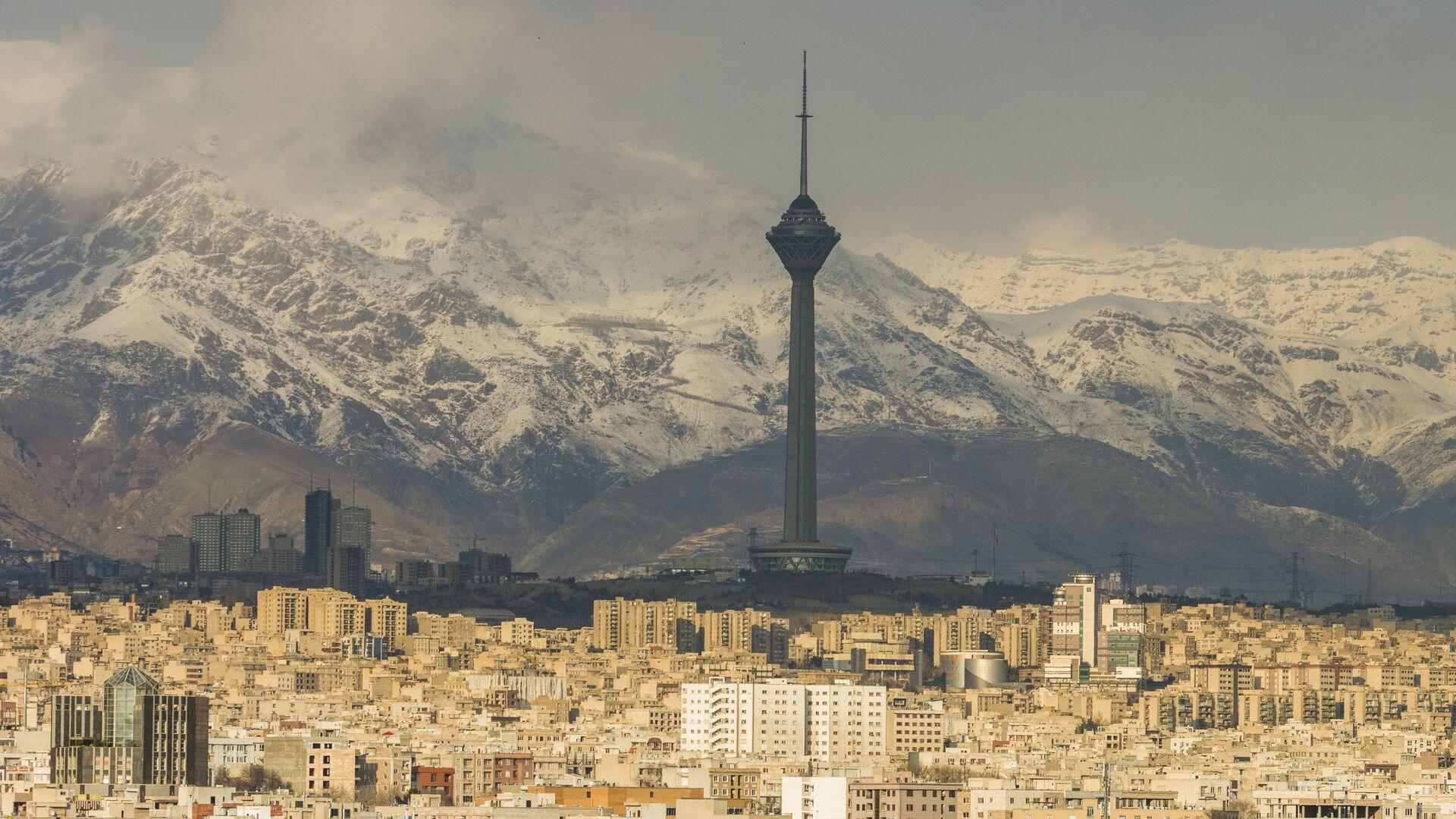 Панорама Тегерана, Иран - РИА Новости, 1920, 18.09.2020